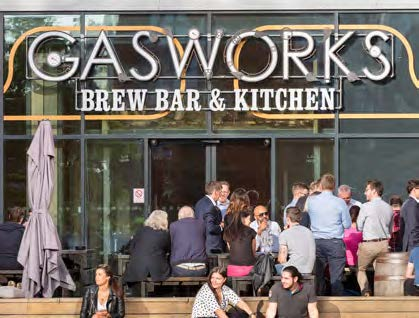 Gasworks brew bar and kitchen